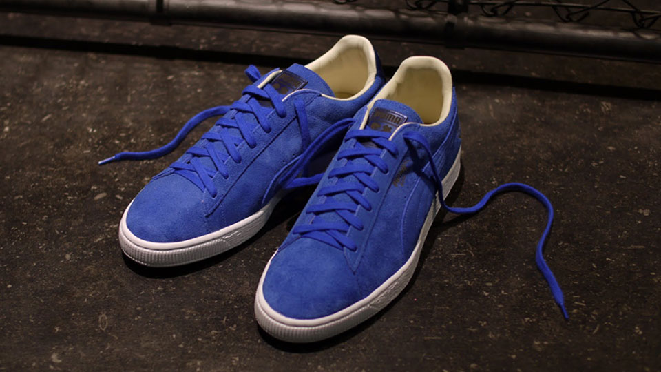 PUMA Suede Sapphire 45th Anniversary colorway