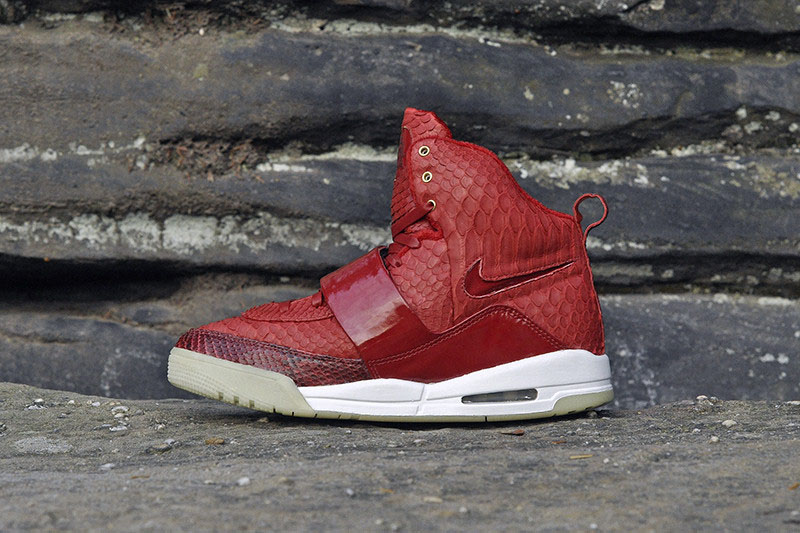 Nike Air Yeezy 'Red October' by JBF Customs
