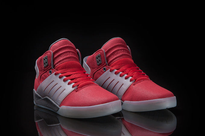 Supra Skytop III Red Waxed Canvas (2)