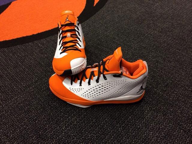 the best attitude aeffa 670fa Kendall Marshall s Jordan CP3.VII Phoenix Suns Home PE