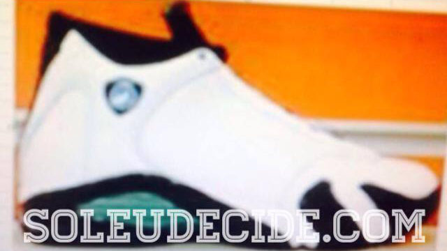 Air Jordan XIV 14 Oxidized Green Retro