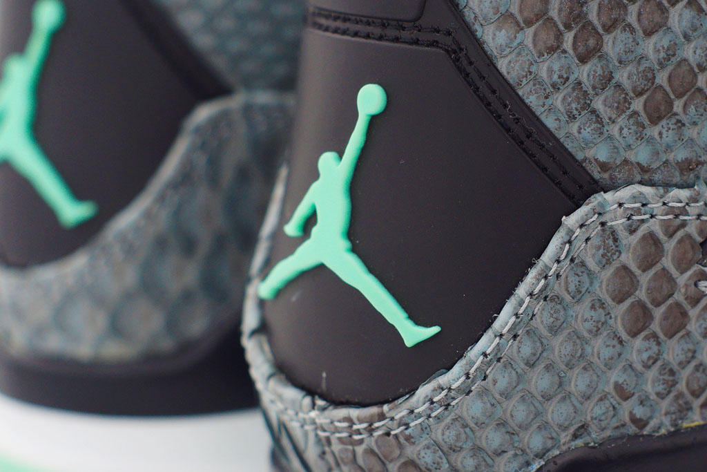 Air Jordan 4 'Python Green Glow' by JBF Customs (7)