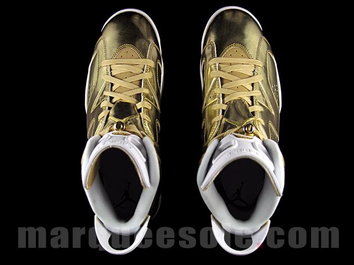 e4b6a9bb9229 Gold Air Jordan 6 Pinnacle Release Date