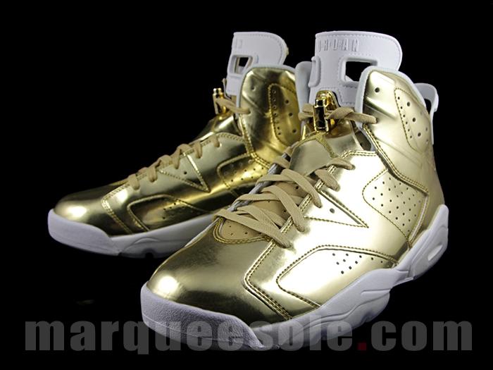 43ef12fa82c Gold Air Jordan 6 Pinnacle Release Date | Sole Collector