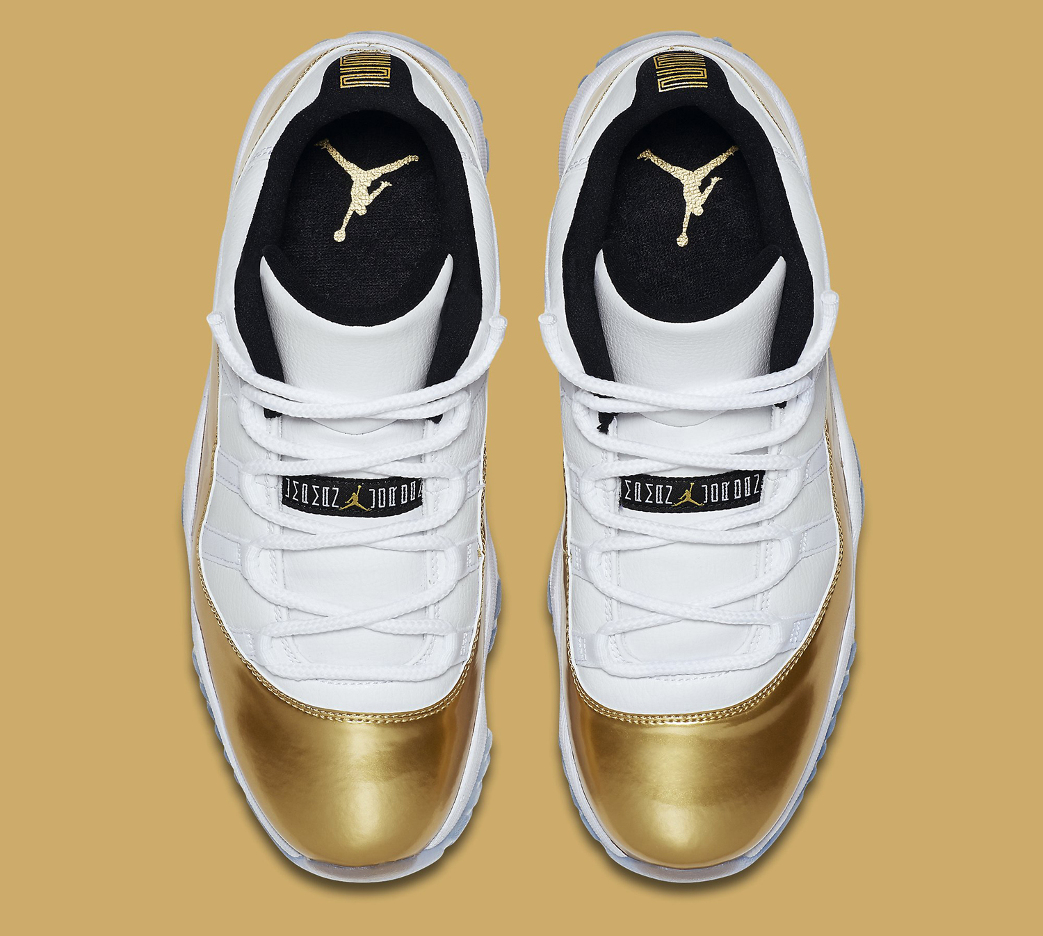 Gold Air Jordan 11 Low Closing Ceremony Sole Collector