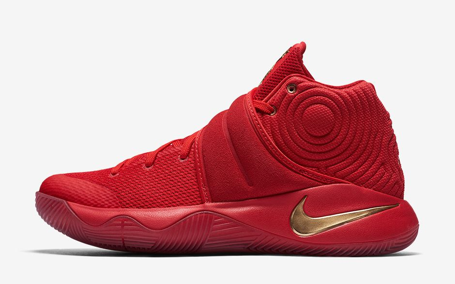Kyrie 2 Gold Medal Profile