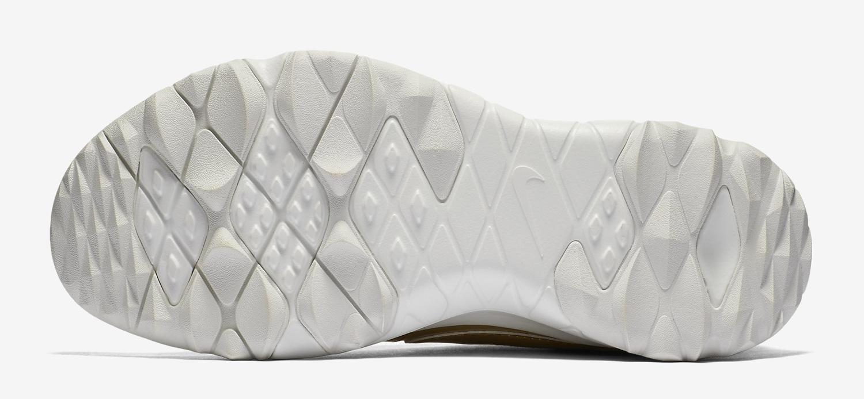 Gold Nike Blazer Golf Shoe Sole