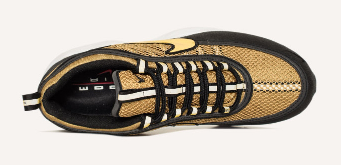 Gold NikeLab Air Zoom Spiridon Top