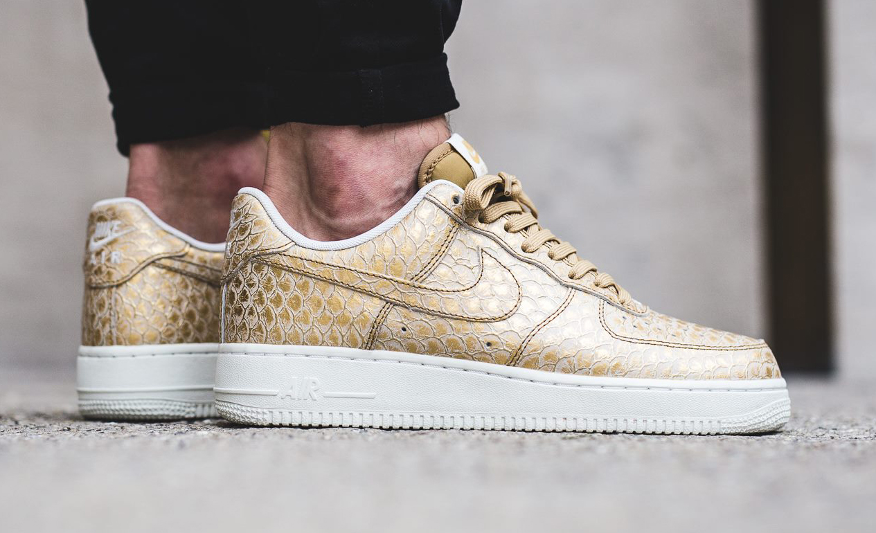 Goldfish Nike Air Force 1 Profile