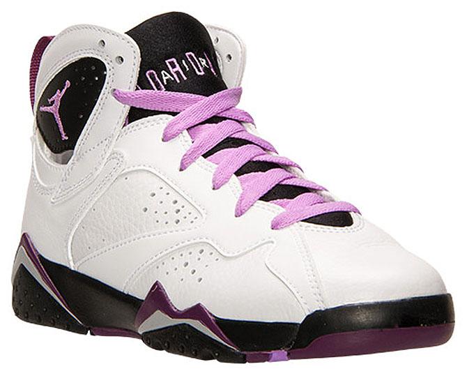 low priced 78614 7cce1 Air Jordan 7 Girls Fuchsia Glow 442960-127 (3)