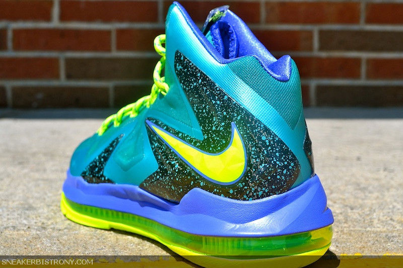 Nike LeBron X PS Elite - Sport Turquoise | Sole Collector  Lebron 10 Elite Turquoise