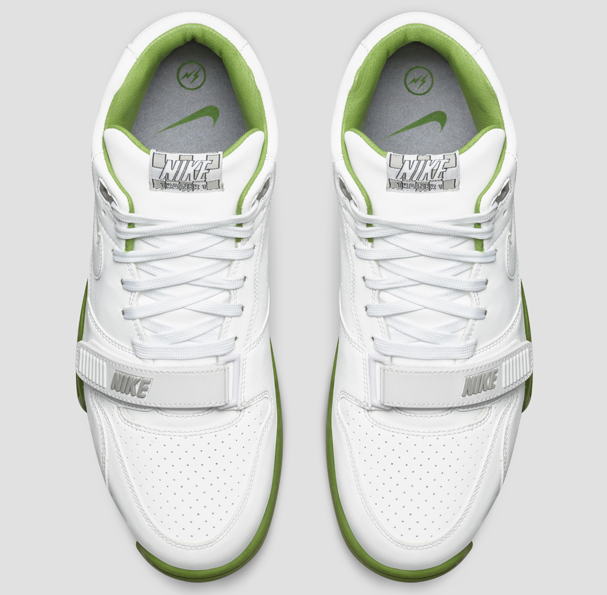 quality design cda53 c7587 Fragment and Nike Collaborate on  Wimbledon  Air Trainer 1s