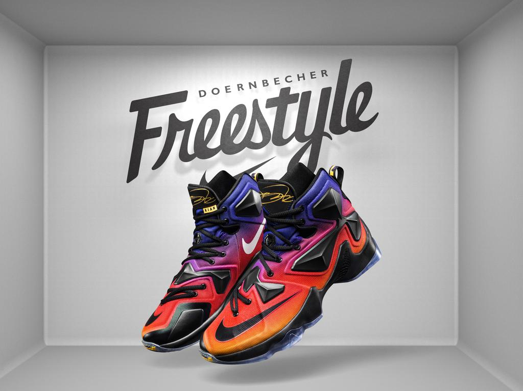 brand new c8269 8c32a Nike LeBron 13 Doernbecher