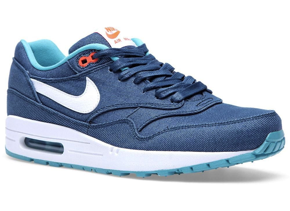Nike Air Max 1 PRM Denim Turquoise White | Sole Collector