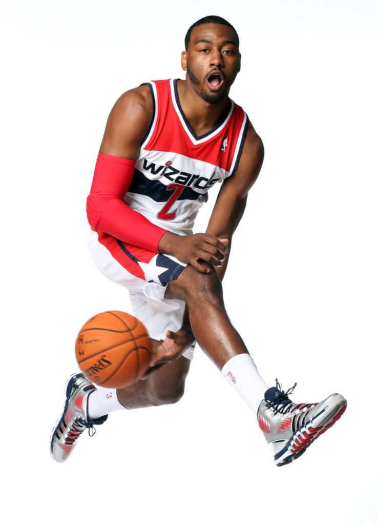 John Wall wearing adidas Crazyquick