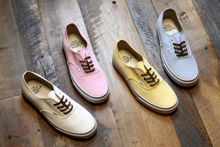 c25c3d109ab35c Vans Authentic CA - Brushed Twill