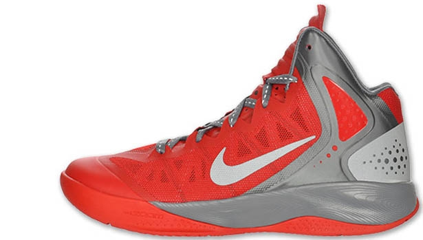 Nike Zoom Hyperenforcer PE Sport Red/Metallic Silver-Cool Grey