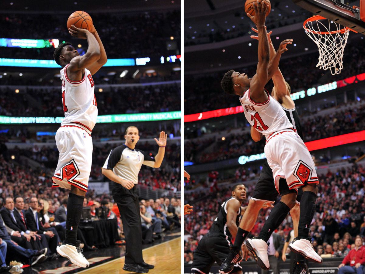 Jimmy Butler wearing adidas The Kobe (5)