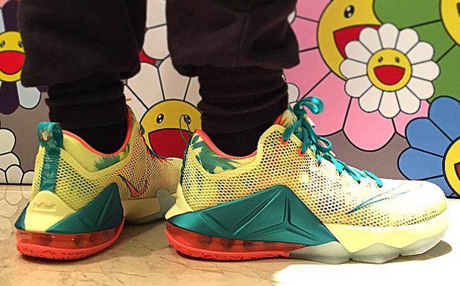 LeBronold Palmer' Nike LeBron 12 Low