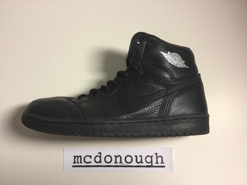 Air Jordan 1 Addition Black (2001)