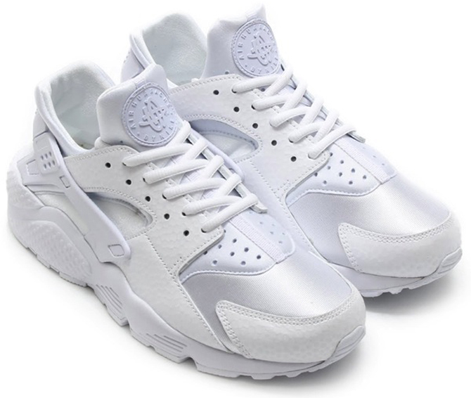 Nike Huaraches Bring Back the 'White on White' Look | Sole Collector