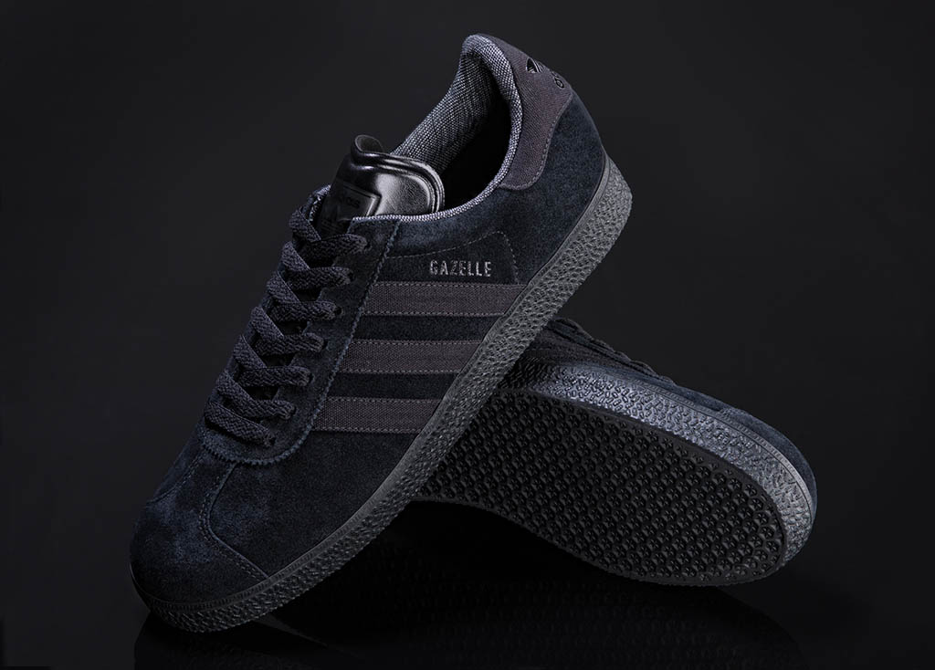 adidas gazelle 2 all black