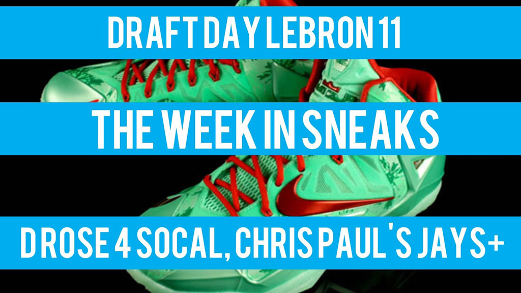 The Week In Sneaks with Jacques Slade : October 27, 2013
