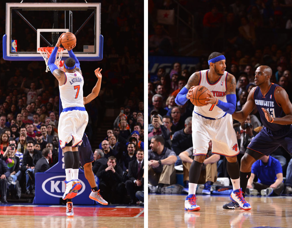 Carmelo Anthony Scores 62 Points in 'Knicks' Jordan Melo M10 (1)