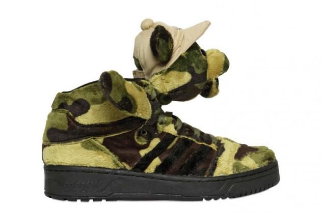 Adidas Jeremy Scott Camo Bear