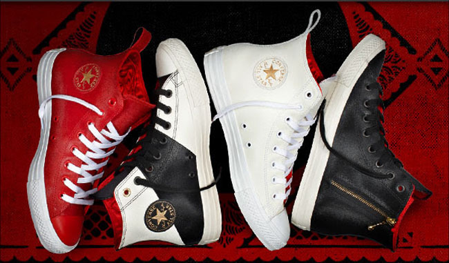 cb2755b5a087 Chuck Taylor Saddles Up for Year of the Horse. Converse ...