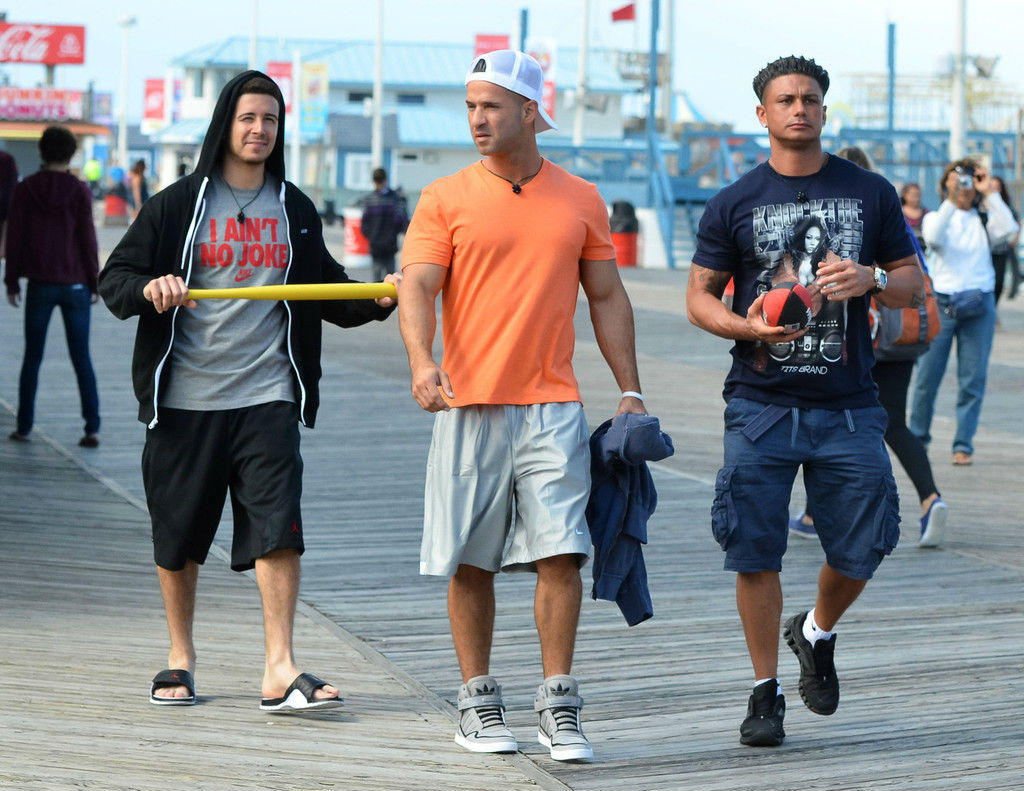 Mike The Situation Sorrentino wearing adidas AR 2.0 Grey