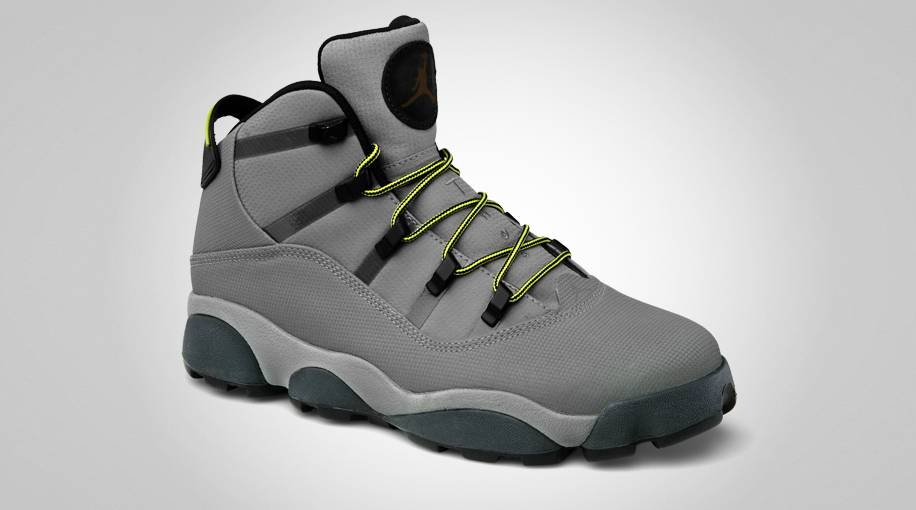 Jordan Winterized 6 Rings Light Charcoal High Voltage City Grey Blue 414845-004