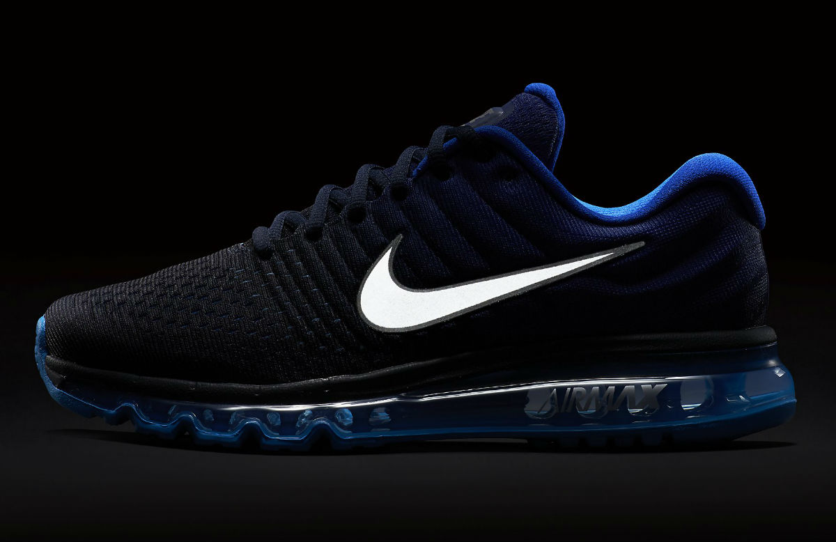 nike air max 2017 black and gold