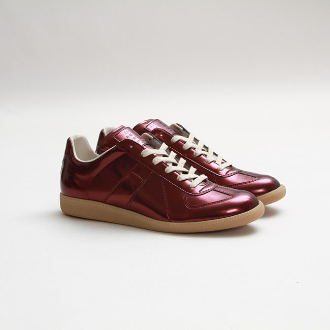 Maison martin margiela replica sneaker in bordeaux sole for Replica maison martin margiela