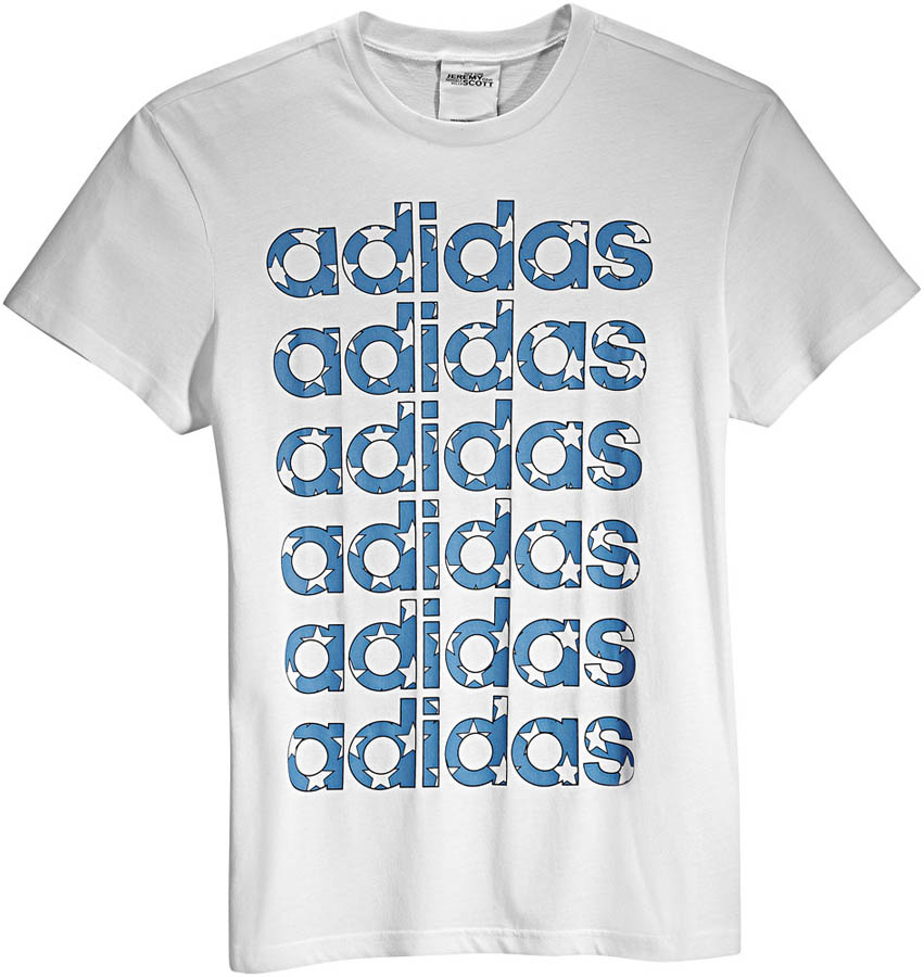 adidas Originals by Jeremy Scott - Spring/Summer 2012 - JS Flag Logo Tee X30176
