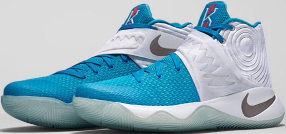 sports shoes d31d1 a04ae nike kyrie 2 mens blue christmas