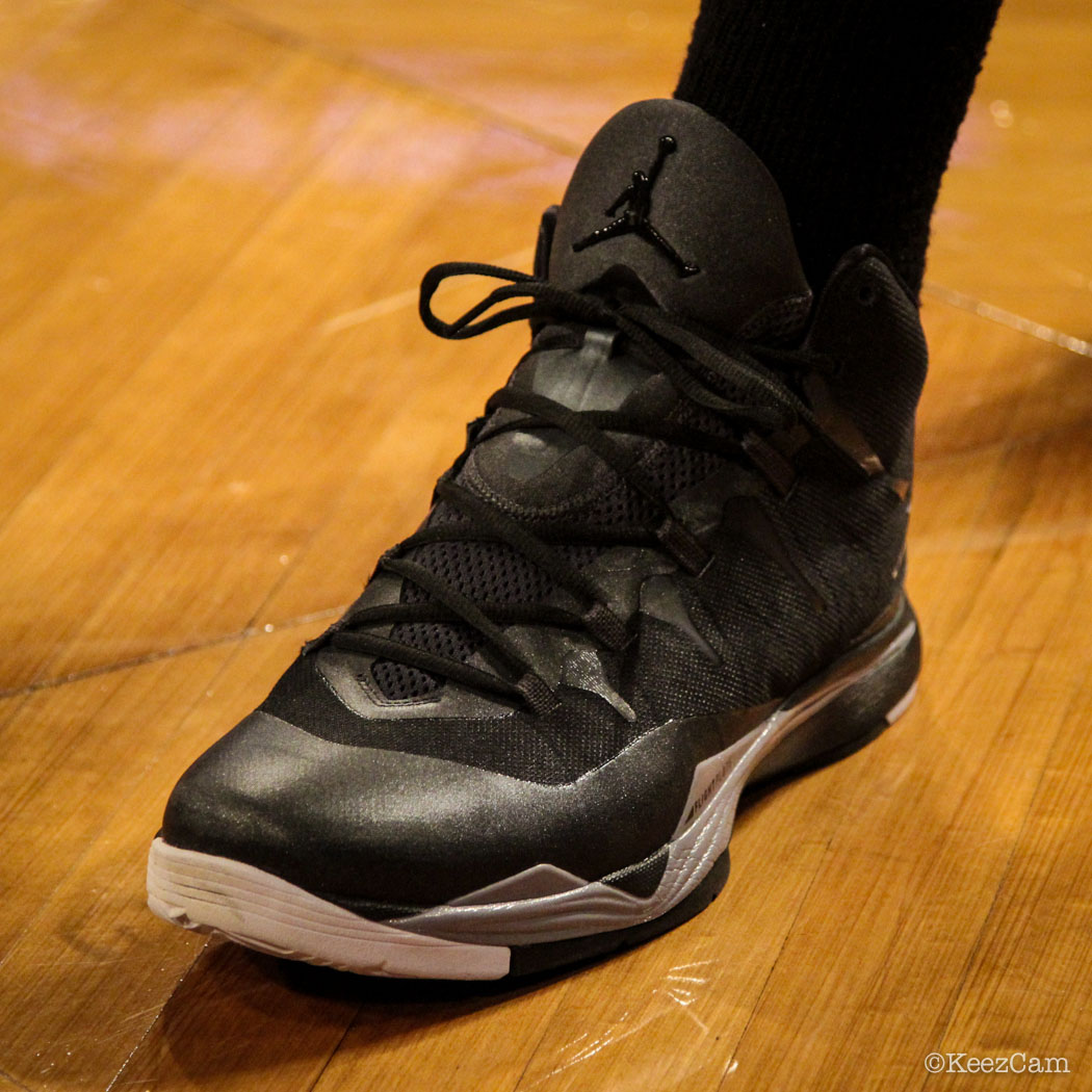 #SoleWatch // Up Close At Barclays for Nets vs Celtics - Jeff Green wearing Jordan Super.Fly 2