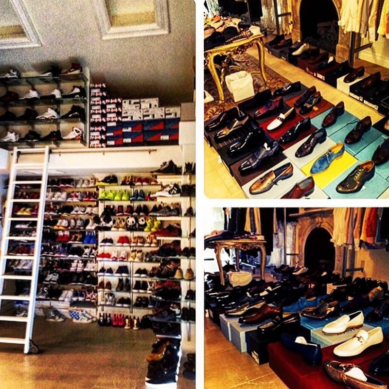 Nick Cannons Sneaker Closet 2