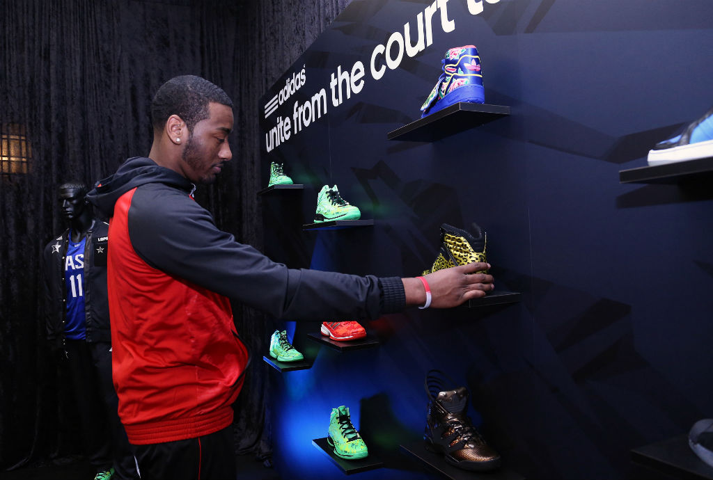 adidas Tips Off NBA All-Star Weekend - John Wall (3)