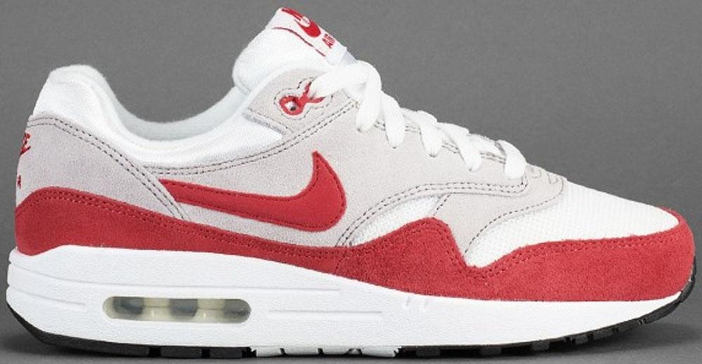 Nike Air Max 1 SP White/Cardinal Red-Neutral Grey