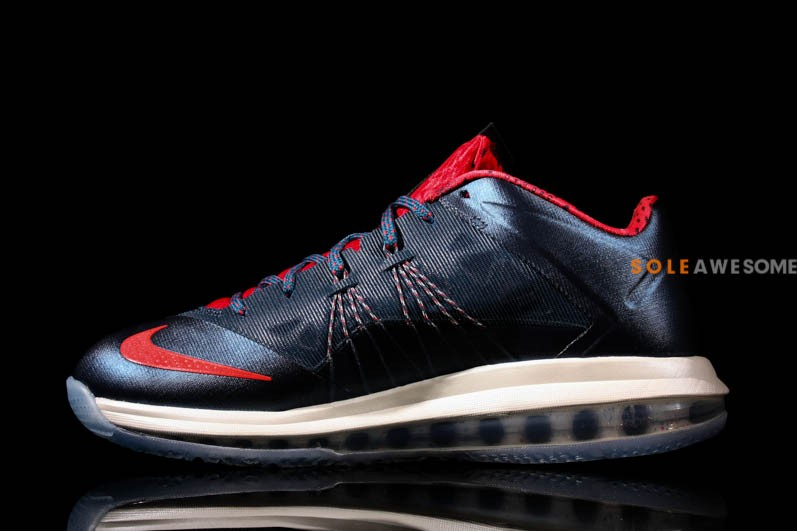 1c8fad3a98aa Stay tuned to Sole Collector for further details on the Navy Red Nike Air  Max LeBron X Low.