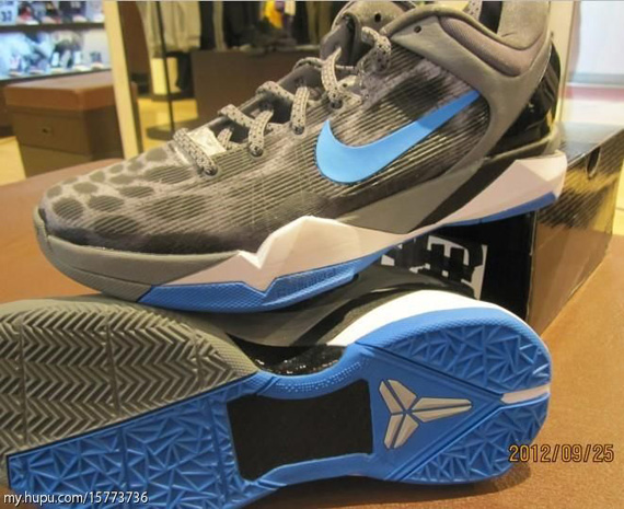 33ab73430b7 Nike Zoom Kobe VII - Cheetah - Wolf Grey Photo Blue