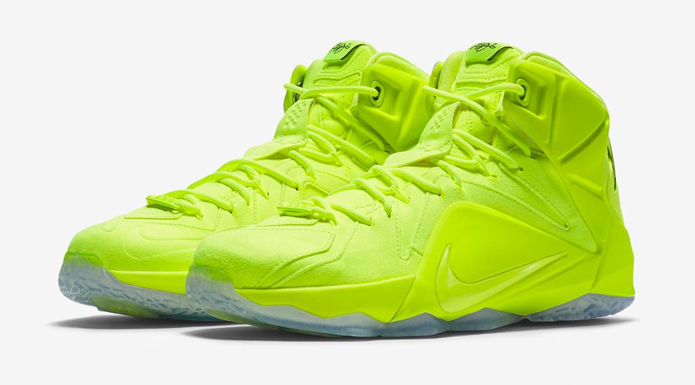 Tennis Ball' Nike LeBron 12s
