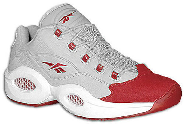 Reebok Question Low Grey/Red