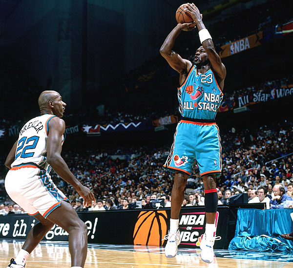 Image result for 1996 nba all star game