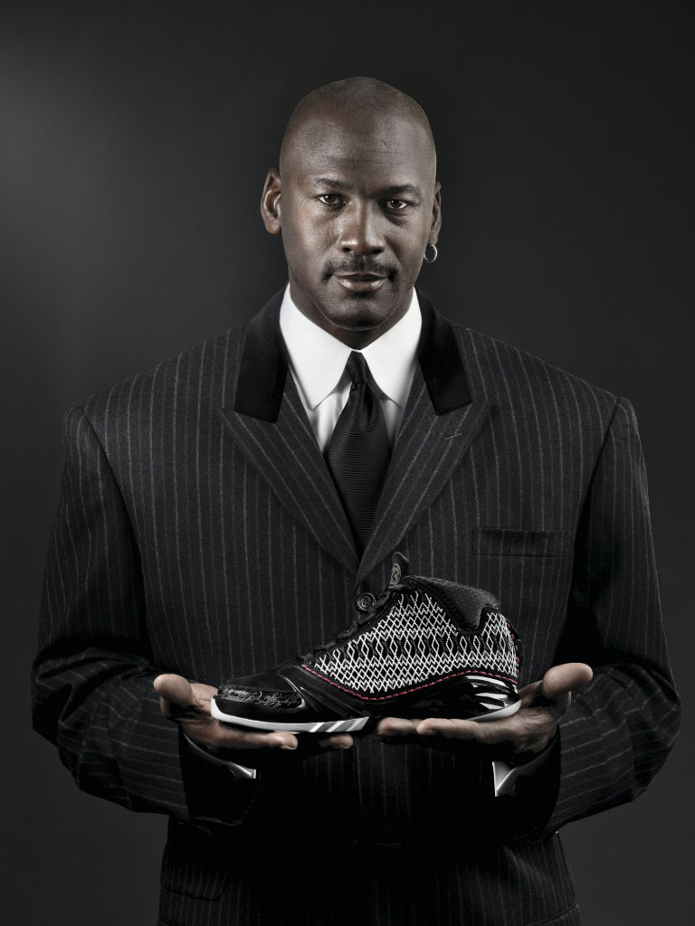 Michael Jordan for the Air Jordan XX3