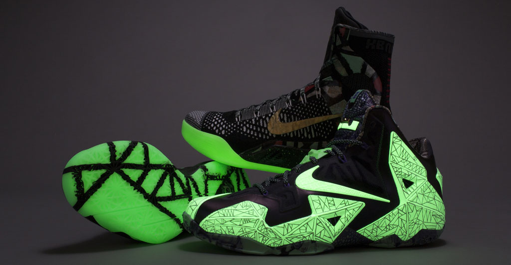 Nike Basketball NOLA Gumbo League All-Star Collection: LeBron 11, KD 6 & Kobe 9 Elite (2)