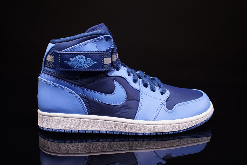 Nike Air Jordan AJ 1 High Strap French Blue University Blue