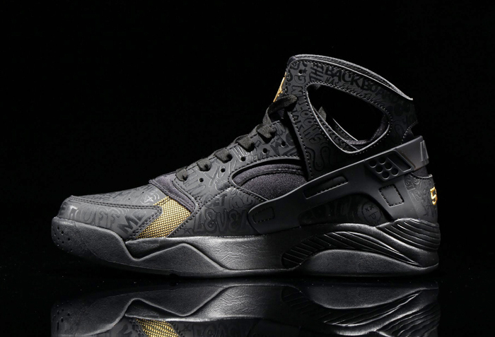 nike air flight huarache black