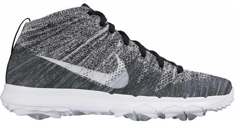 536cec6e1 These two debut colorways for this Nike Flyknit Chukka golf shoe are  available now from Golfsmith.